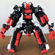 それなりに作った白赤黒ロボ