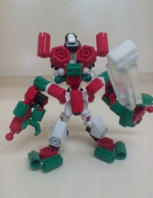 SDガンダム風なロボット