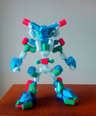 シンプルにロボット