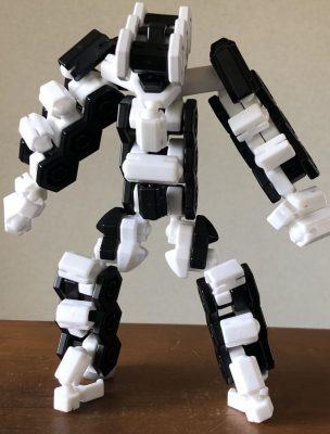 それなりに作った白黒ロボ